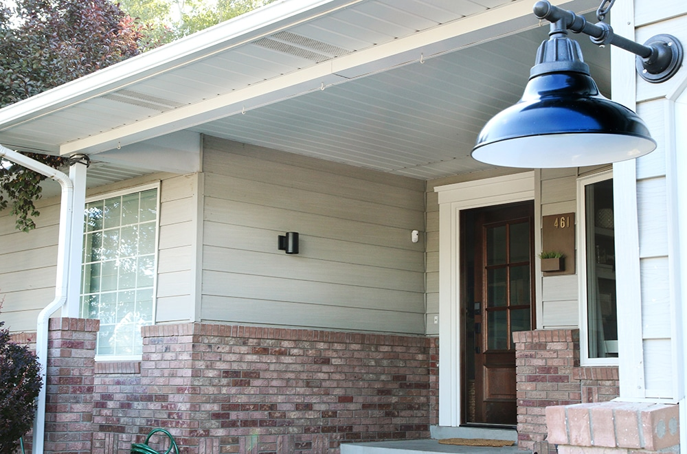 A Really Good, Modern Exterior Fixture for under $20
