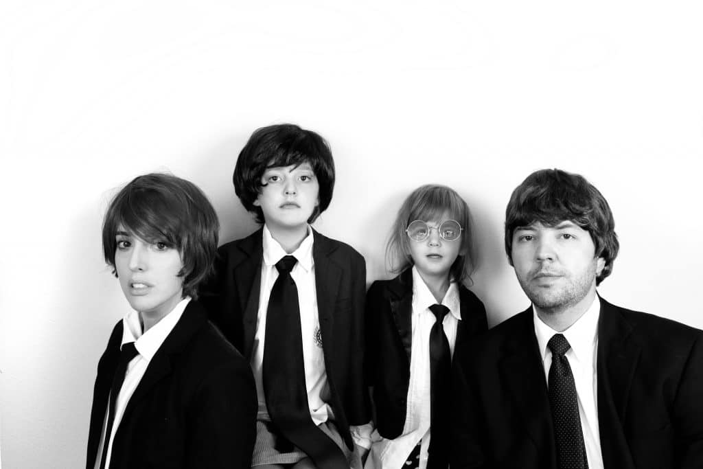 Family Beatles Costume!