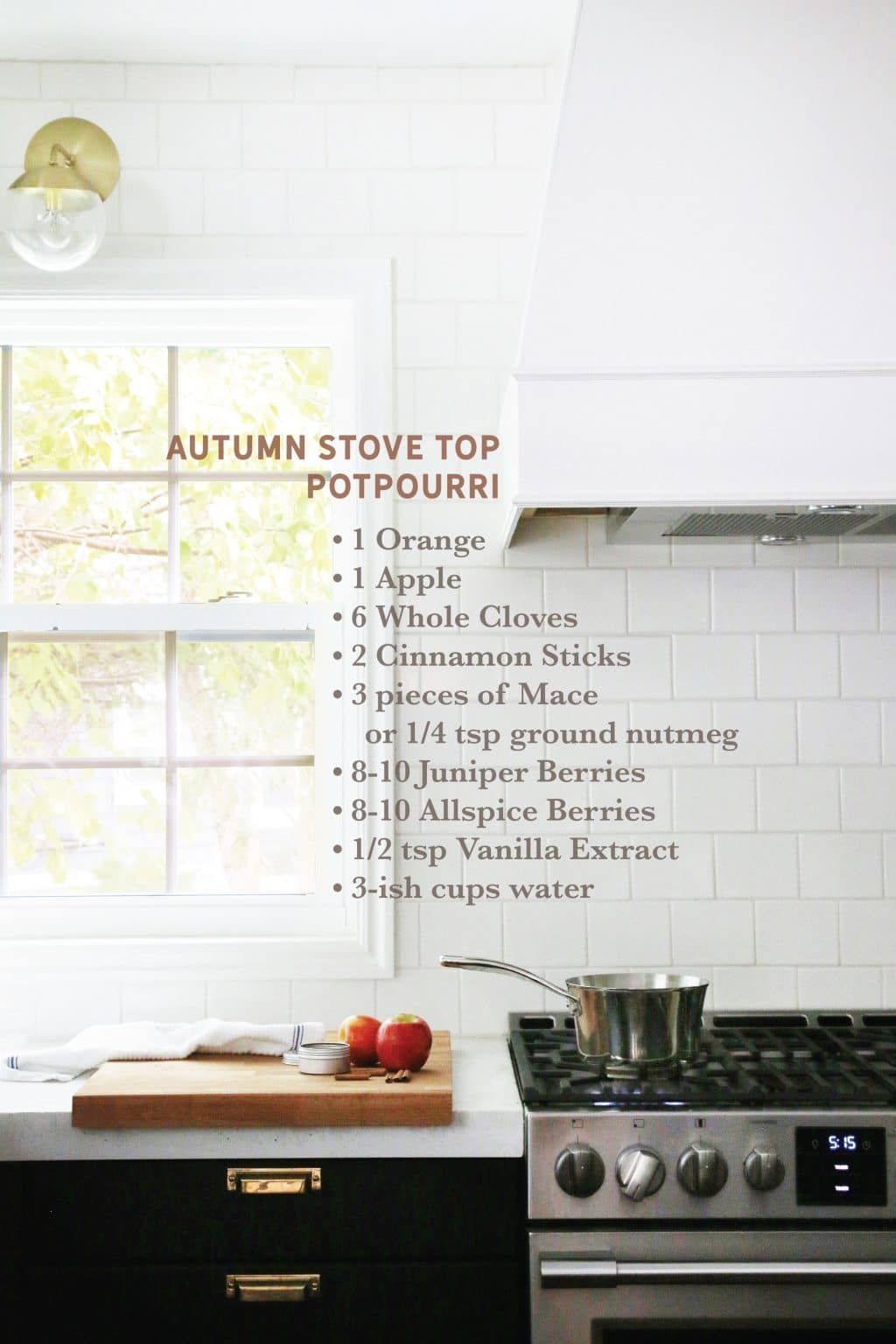 Autumn Stove Top Potpourri | Chris Loves Julia