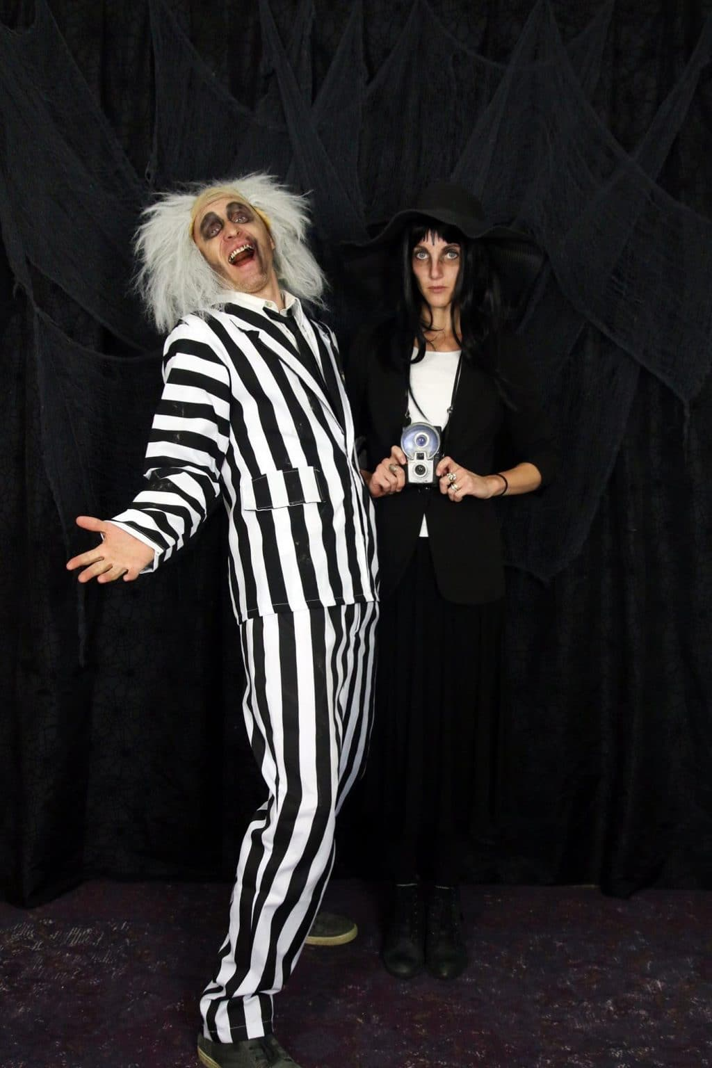 Beetlejuice and Lydia costume!