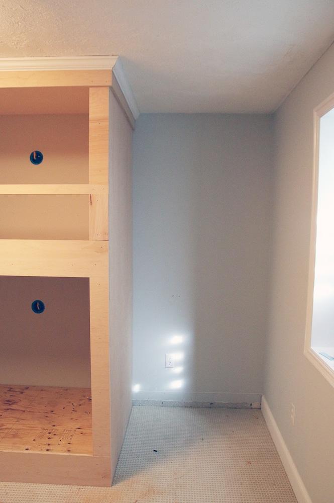 DIY Built-In Bunkbeds for Around $700 | Chris Loves Julia