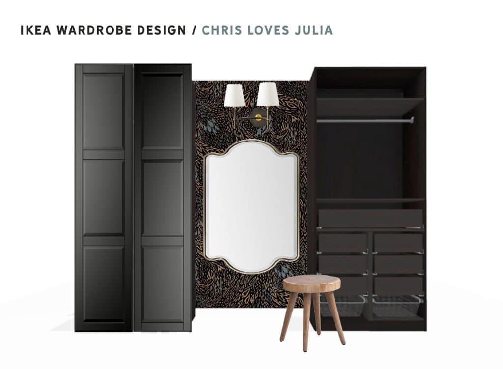 Ikea Pax wardrobe design