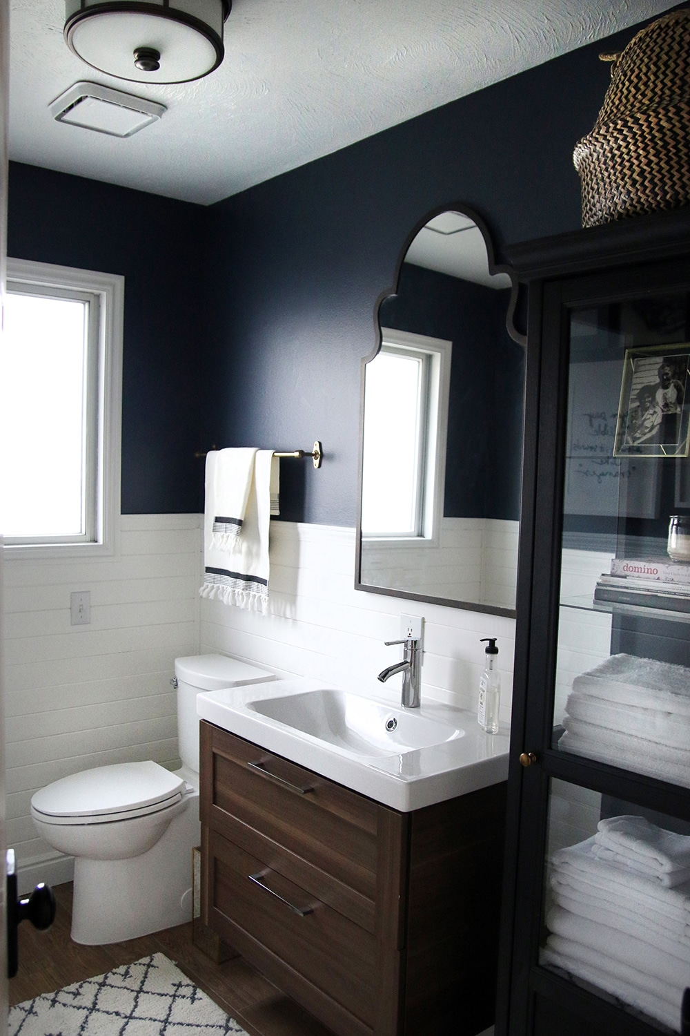 A Half-bath refresh - Chris s Julia on half bathroom blue, half bathroom decorating ideas, half bathroom flooring, half bathroom rug ideas, half bathroom color ideas, half bathroom vanity ideas, half bathroom mirrors, half baths ideas, half bathroom makeover ideas, half bathroom decor ideas, half bathroom storage ideas, half bathroom modern, half bathroom window treatments, half bathroom design, half wall decor ideas, half bathroom paint ideas, half bathroom tile ideas, half bathroom closet ideas, half bathroom layouts, half bathroom wallpaper ideas,
