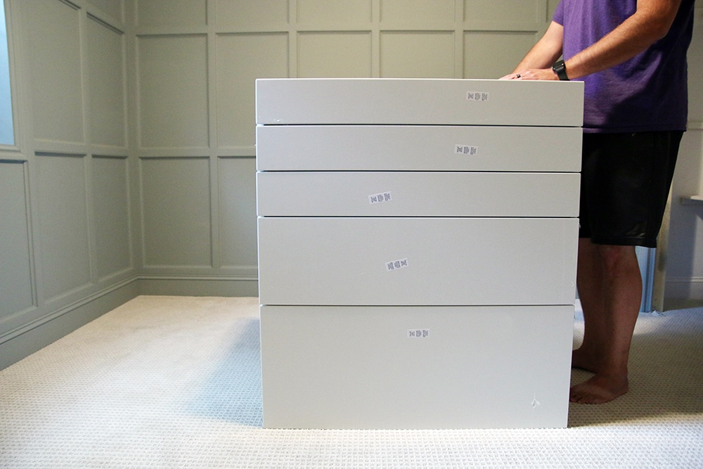 Building a Custom Standing Desk Using IKEA Kitchen Cabinets