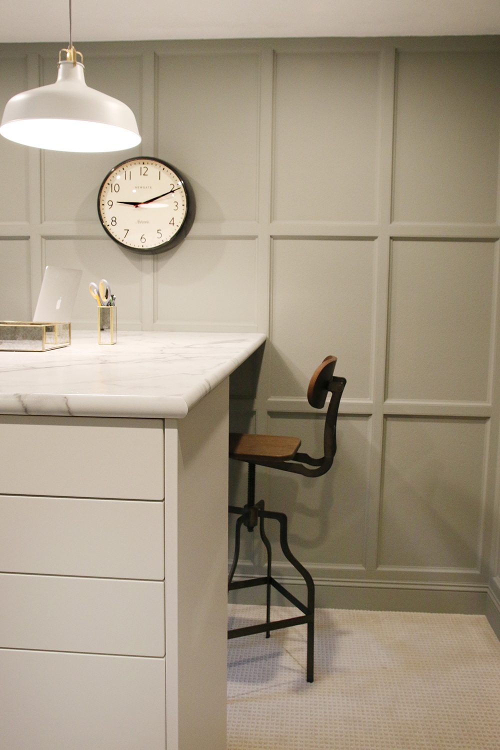 cabinets desk. stack ikea cabinets to make a standing desk with storage! s