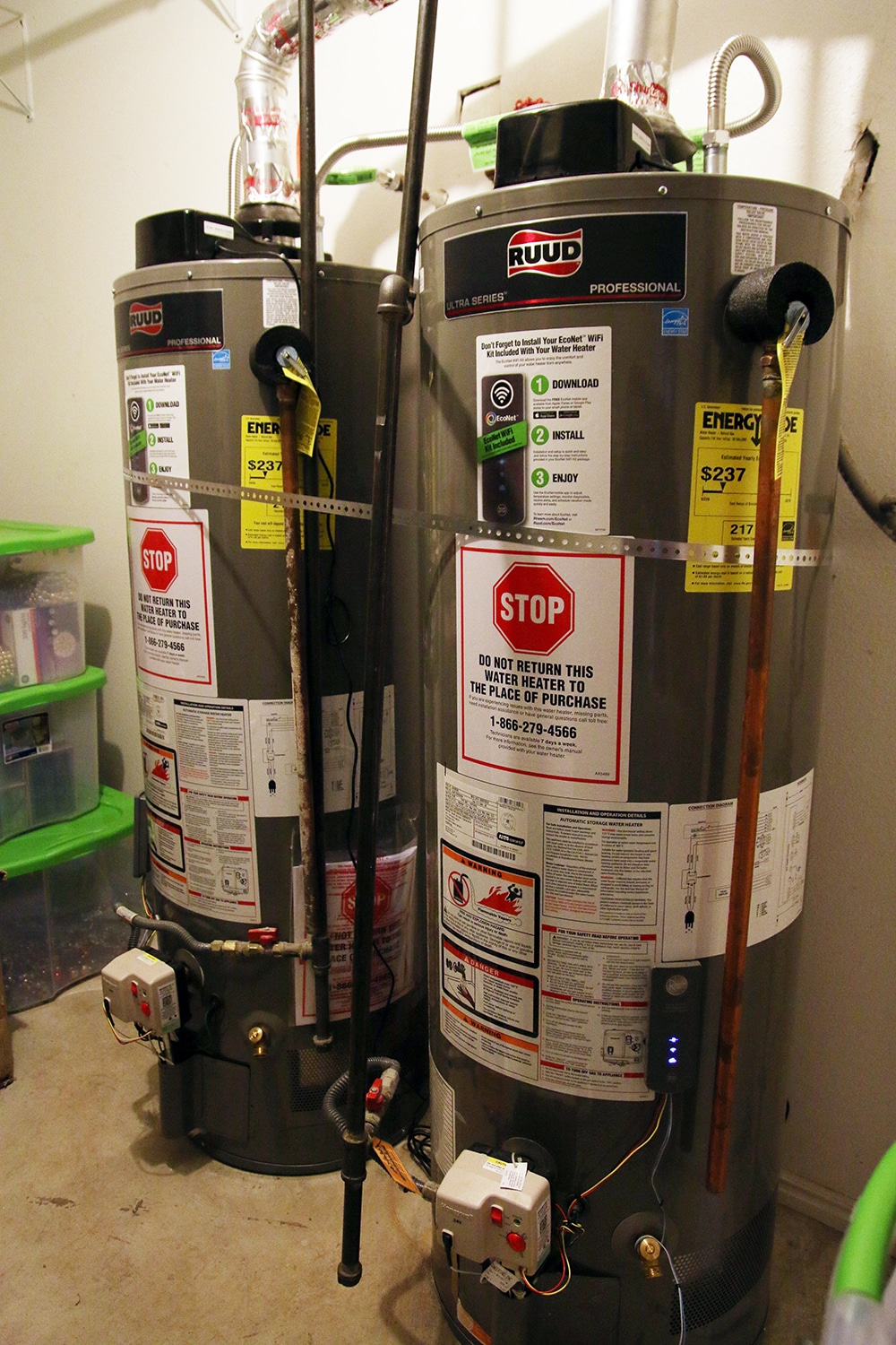 The Energy Efficient Home - Water Heaters & Connectivity
