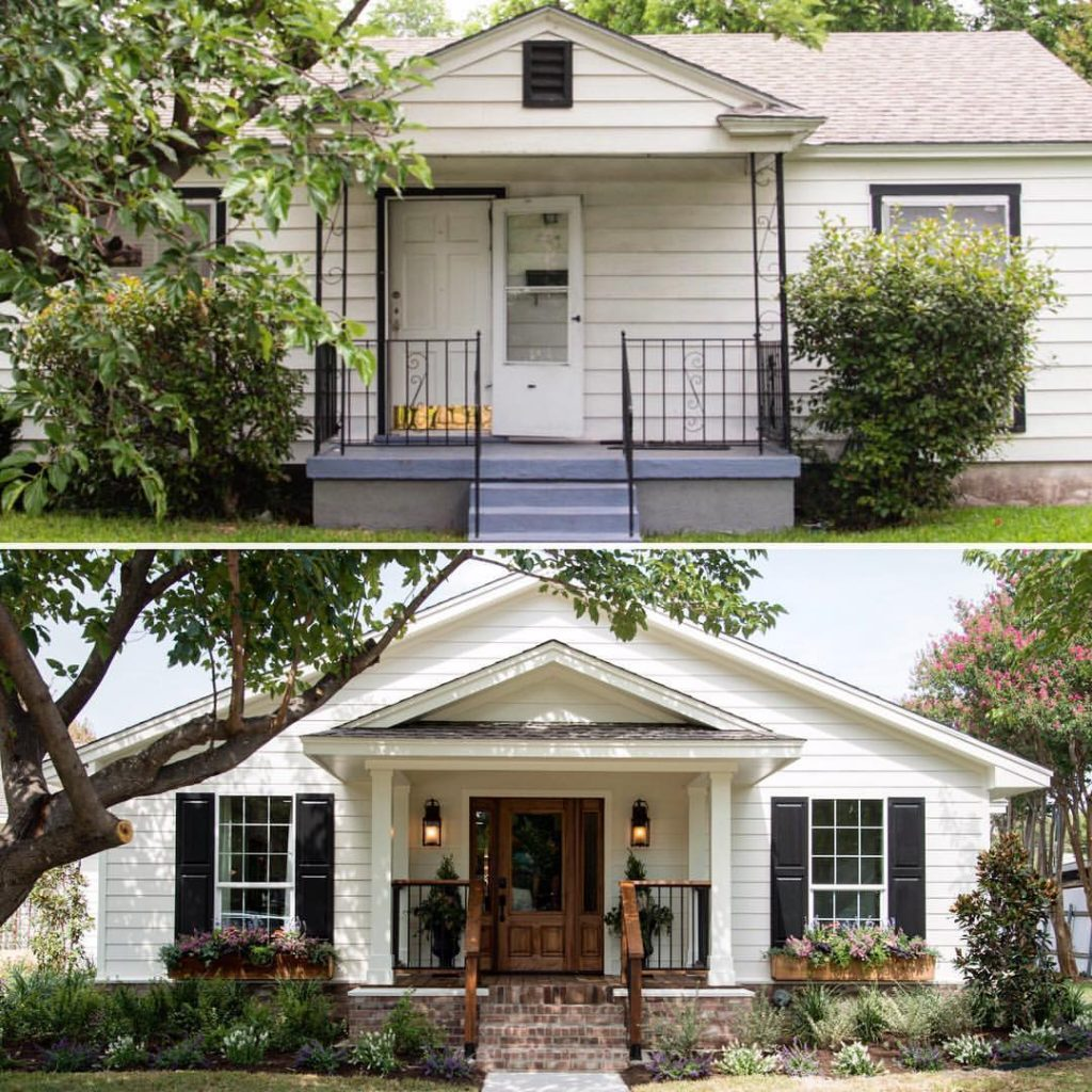 Wow! Now that's an Exterior before and after!