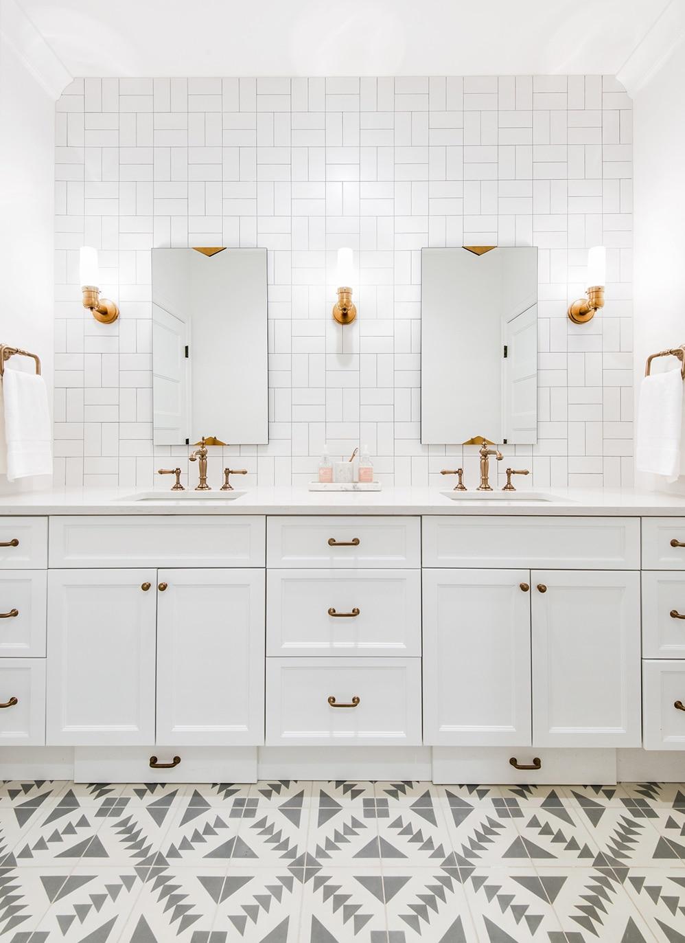 Caitlyn Wilson's beautiful kids' bathroom.