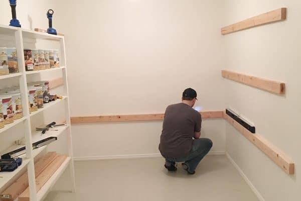 How to build high-capacity storage shelves
