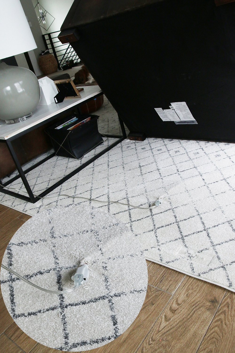 We Purchased One Of These Flat Extension Cords And Taped It Along The Edge  Of The Rug So Itu0027s Undetectable Walking Over It. Youu0027re Definitely Going To  Want ...