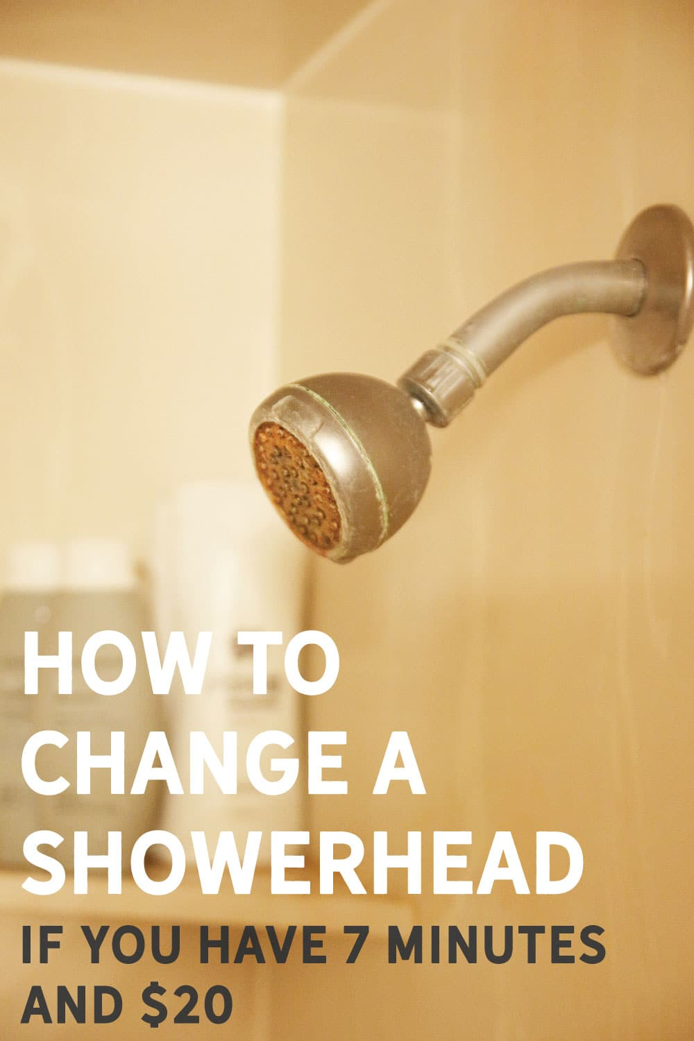 A Quick and Easy Shower Update (Even a Renter can do!) - Chris Loves ...