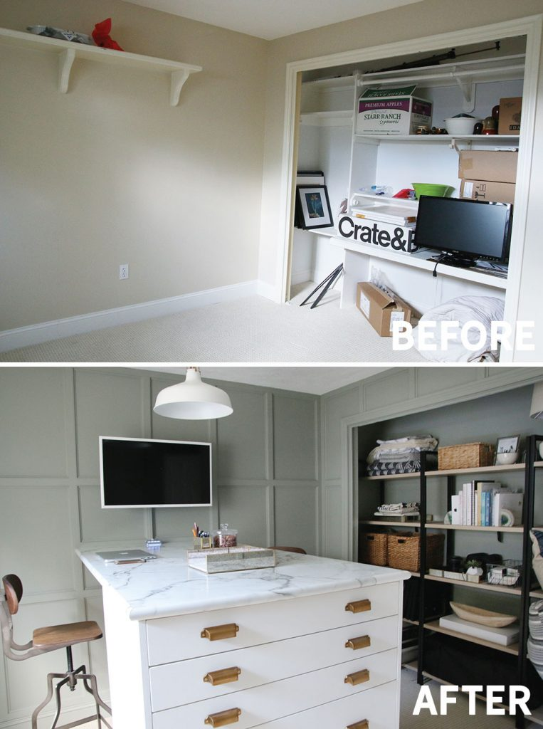 Before And After Our Home Office Is Finished Chris