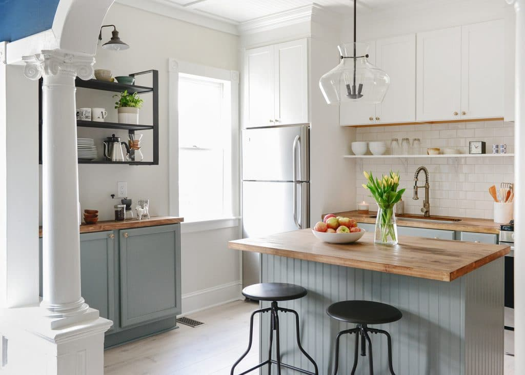 Year Old Home Gets A Day Kitchen Makeover For Less Than