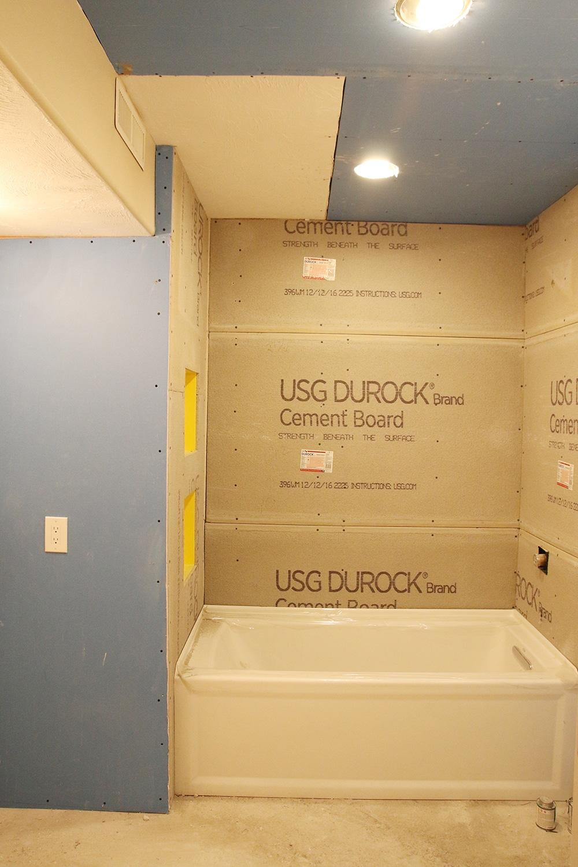 Bathroom Reno 101: Adjusting the Room for a Tub