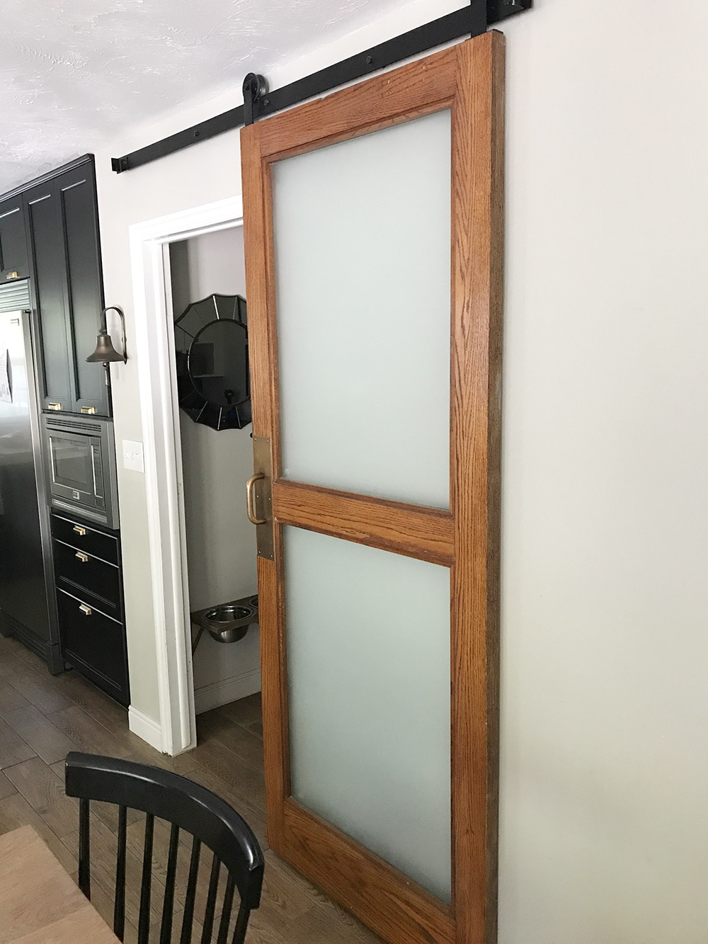 seeing double pocket doors   at last