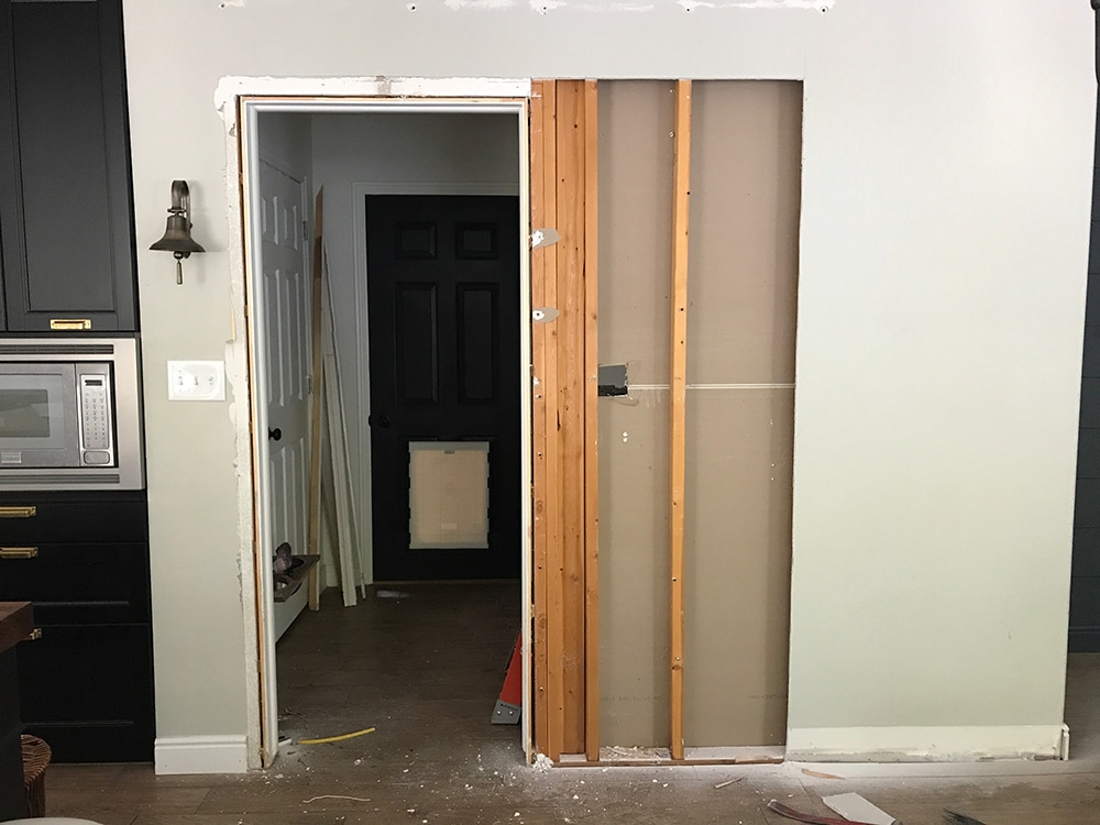 ... Pocket Door, Even If You Arenu0027t Going To Do It Completely Yourself, Is  A Disruption And Messy. All In All It Took 2 Days. We Decided To Hire Out  Part Of ...