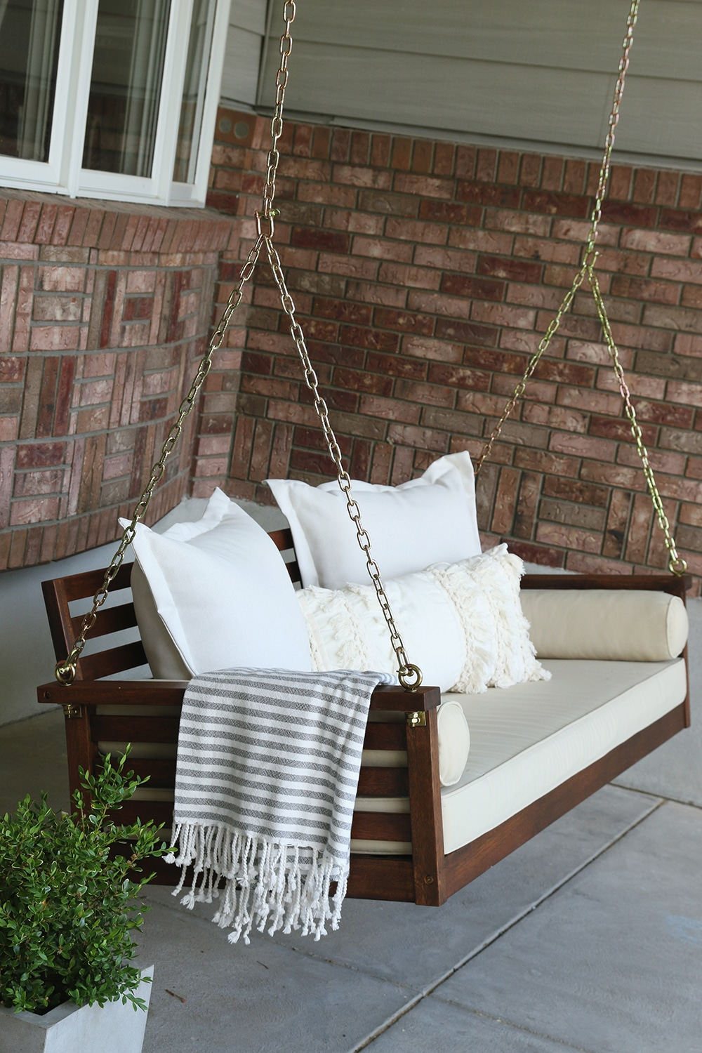 plans front size porch beds with rope swing swinging