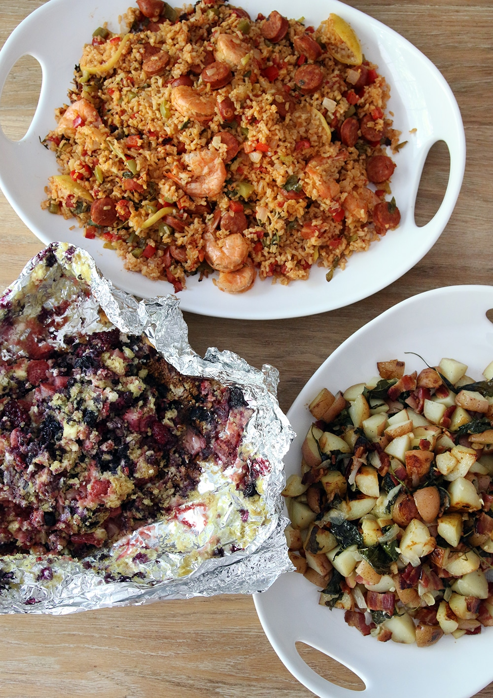 3 Foil Packet Sides for Outdoor Cooking