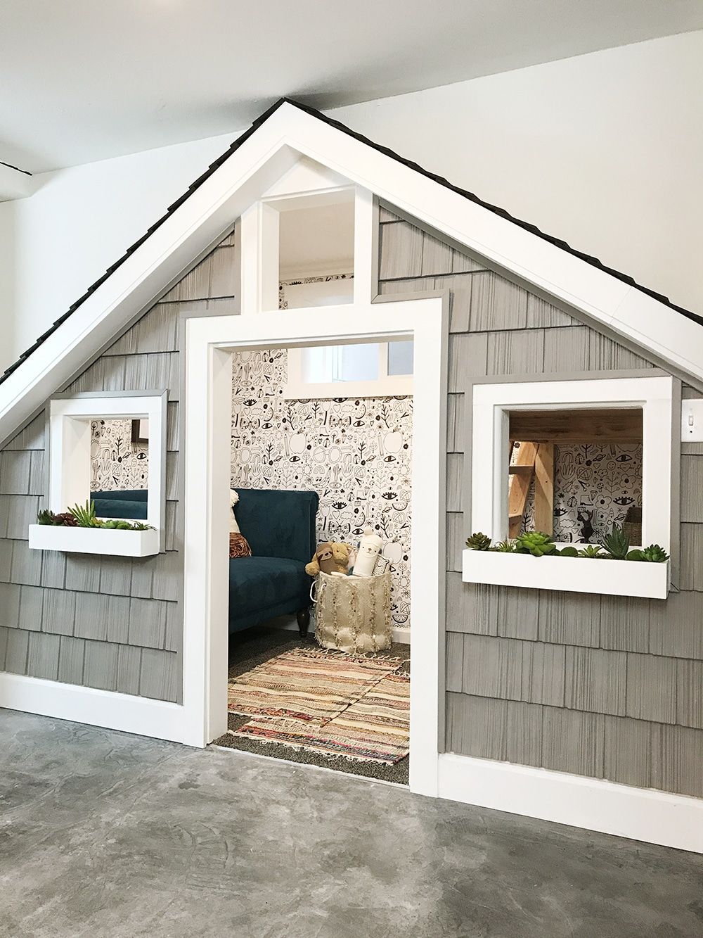 Before And After: The Sweetest Small Indoor Playhouse! - Chris ...