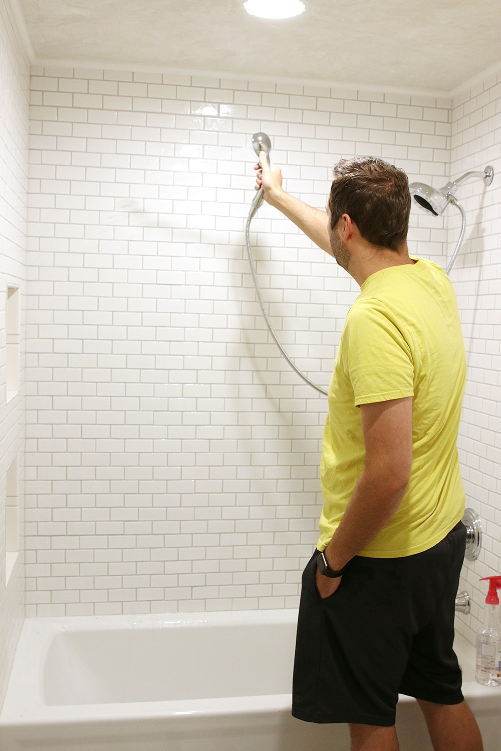 The Quickest Way to Remove Grout Haze From Tile