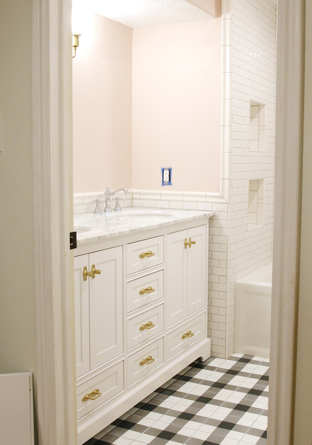Choosing a Paint Color for Our Small, Windowless Bathroom - Chris ...