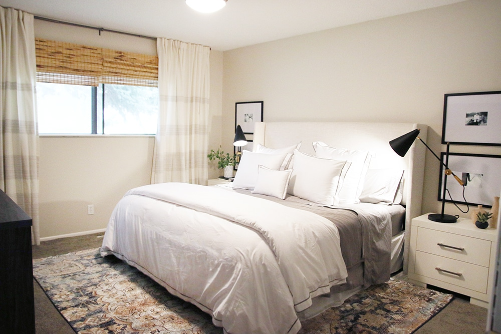 Before And After A One Day Master Bedroom Makeover And 5