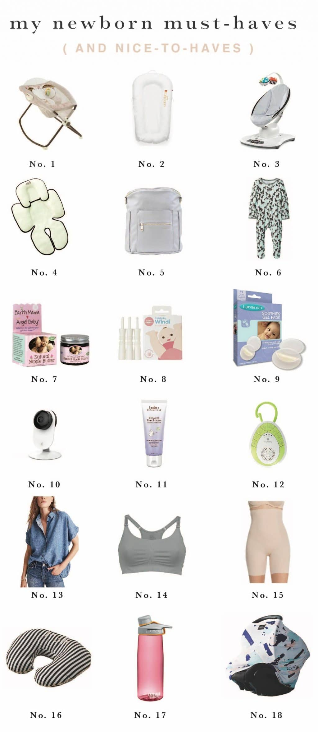 My Newborn Must Haves And Nice To Haves Chris Loves Julia
