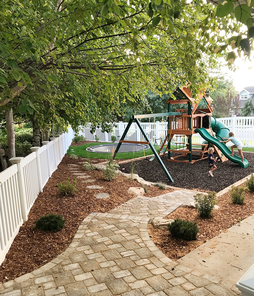 our backyard playground part ii the reveal and budget breakdown