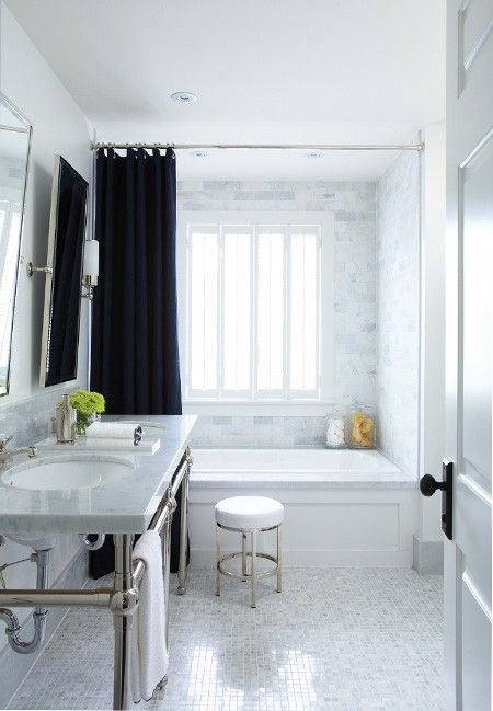 A Large, Luxe Shower With No Tub. A Large Shower With Multiple Heads And  Maybe A Built In Bench Sounds Dreamy. We Also Have Plans To Add A Privacy  Window In ...