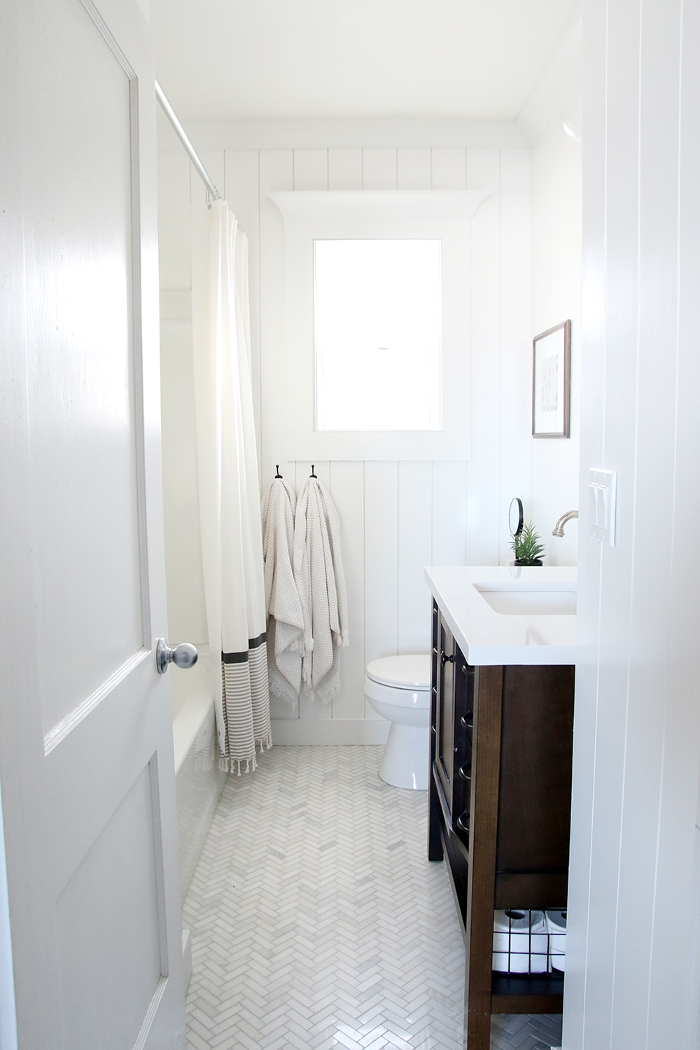 Small Bathroom Renovation HowTo Videos Chris Loves Julia - Bathroom renovation videos