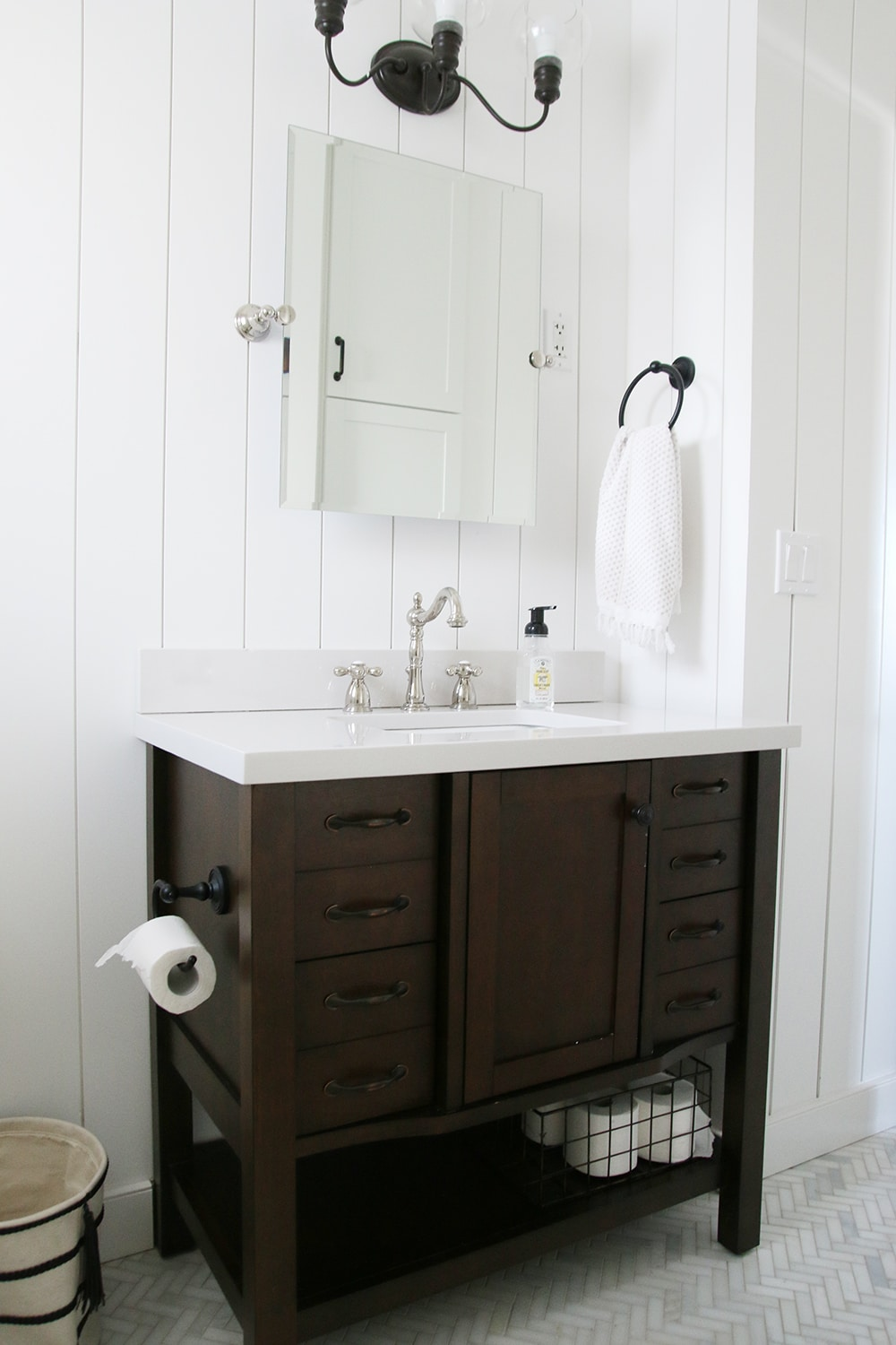 The Most Diy Friendly Bathroom Renovation We Ve Ever Done