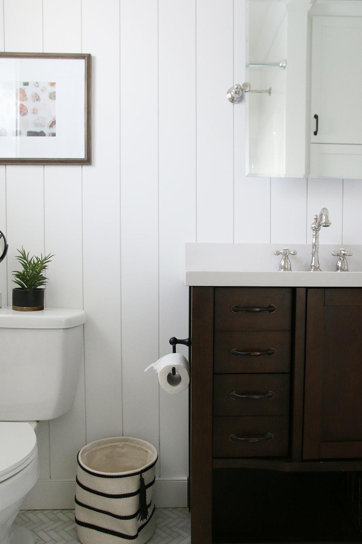 The Most Diy Friendly Bathroom Renovation We Ve Ever Done Chris Loves Julia