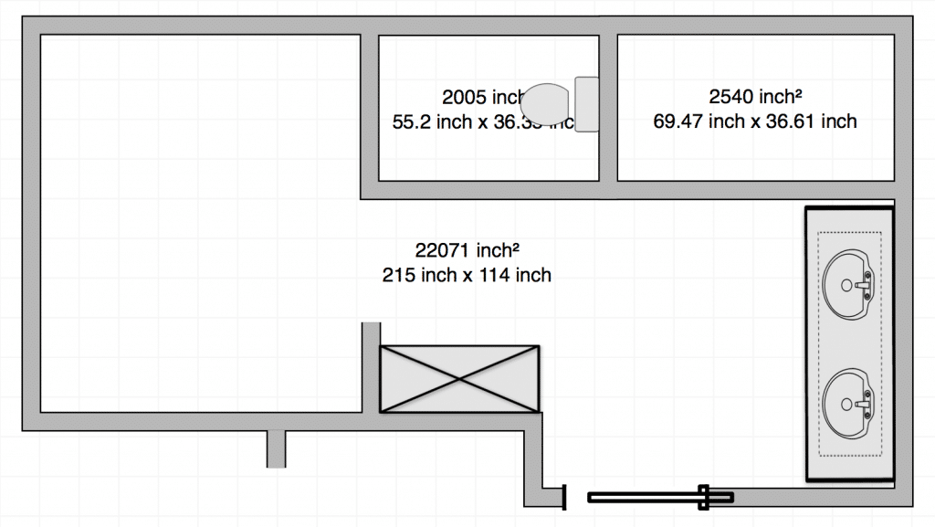 CLJ Bathroom Layout Option 2