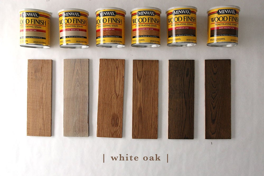 This Will Hopefully Help You See How Pine Birch Poplar White Oak And Red S Undertones Play With Diffe Stain