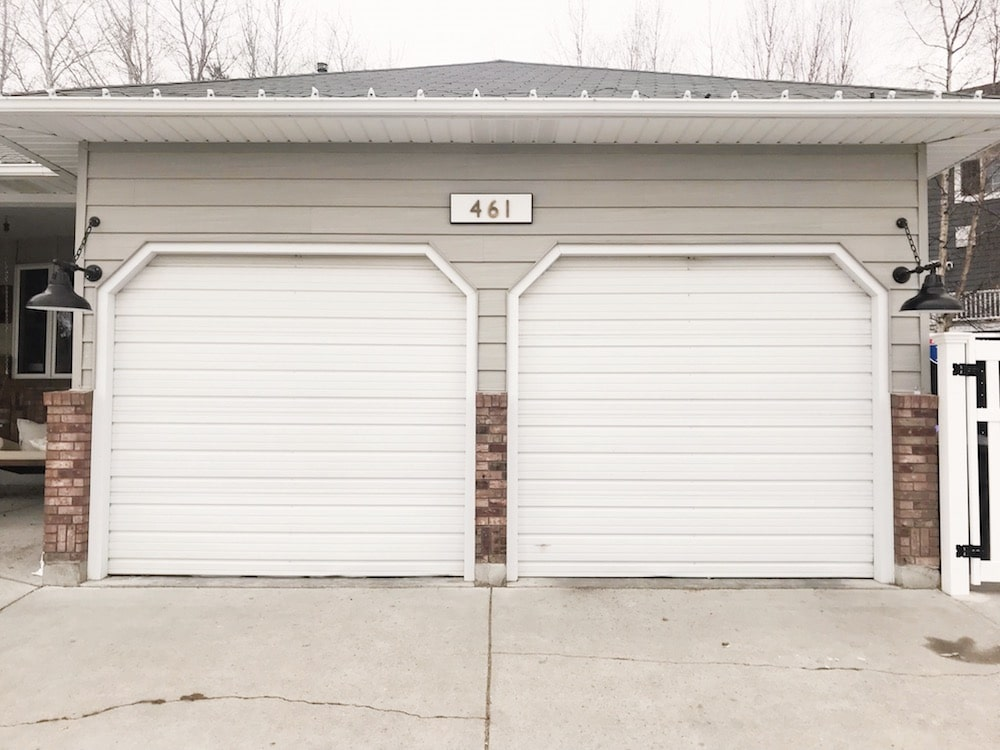 How To Replace A Garage Door Chris Loves Julia