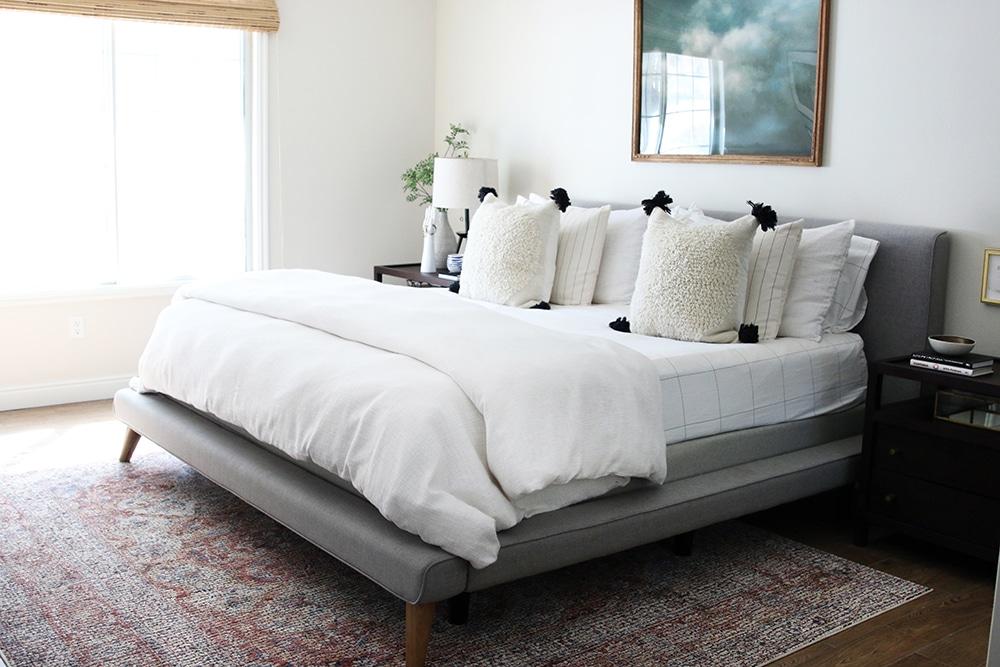 Our Master Bedroom Refresh Chris Loves Julia