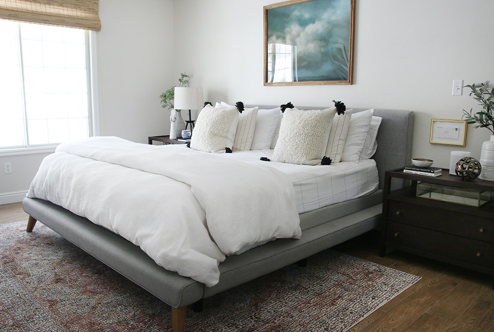 our master bedroom refresh - chris loves julia Different Nightstands