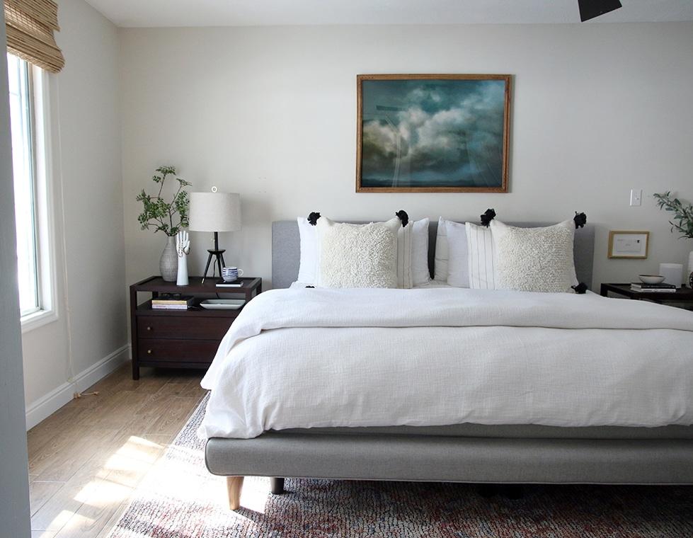 Our Master Bedroom Refresh - Chris Loves Julia