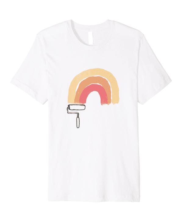 This Is My Paint Shirt - Rainbow Premium Tee Image