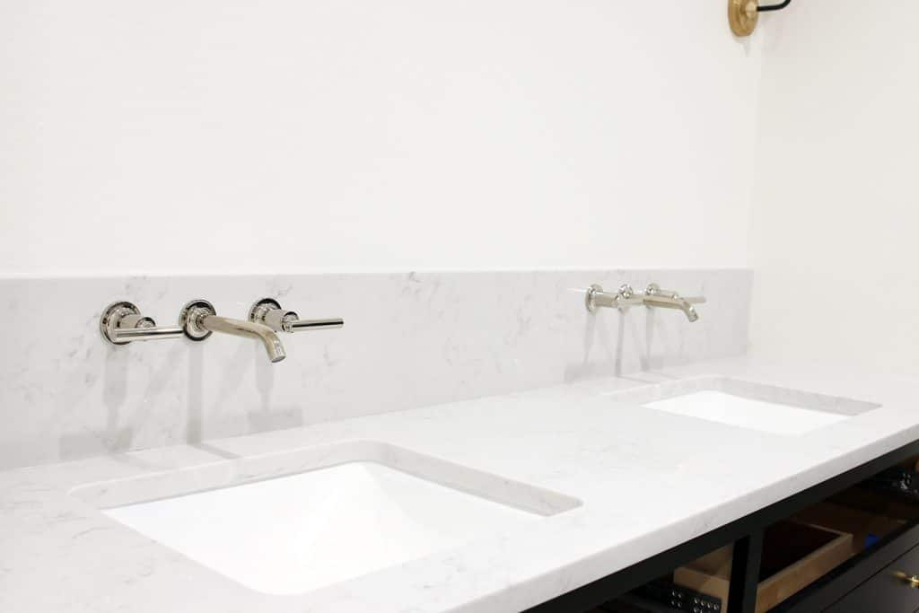 Kohler bathroom faucet and sink