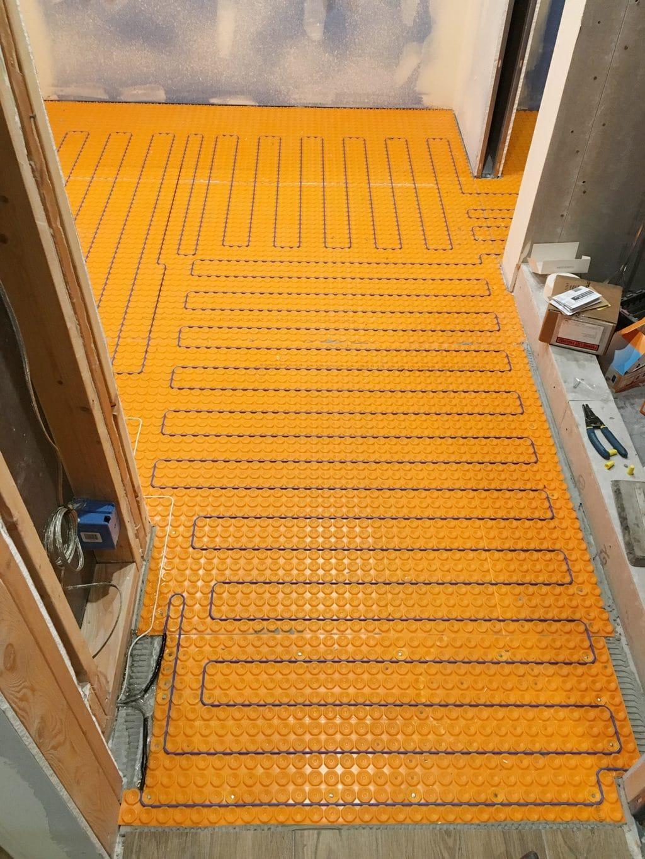 Adding Marble Flooring To The Master Bathroom Chris