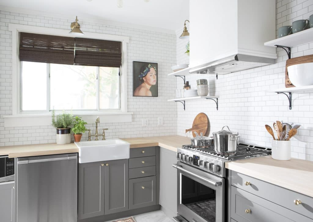 Butcher Block Kitchen Countertops For Sale : A Big Sale on Butcher Block Countertops! (You can use them everywhere!) - Chris Loves Julia