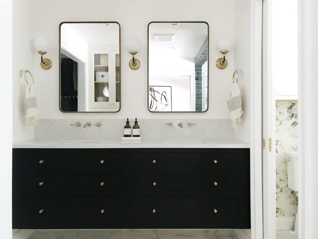 How Much Did The Bathroom Renovation Cost A Full Budget Breakdown Chris Loves Julia