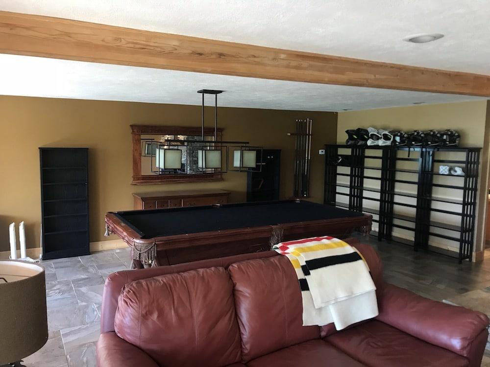 Cabin basement plan