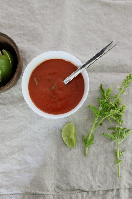 Thai Tomato & Basil Soup