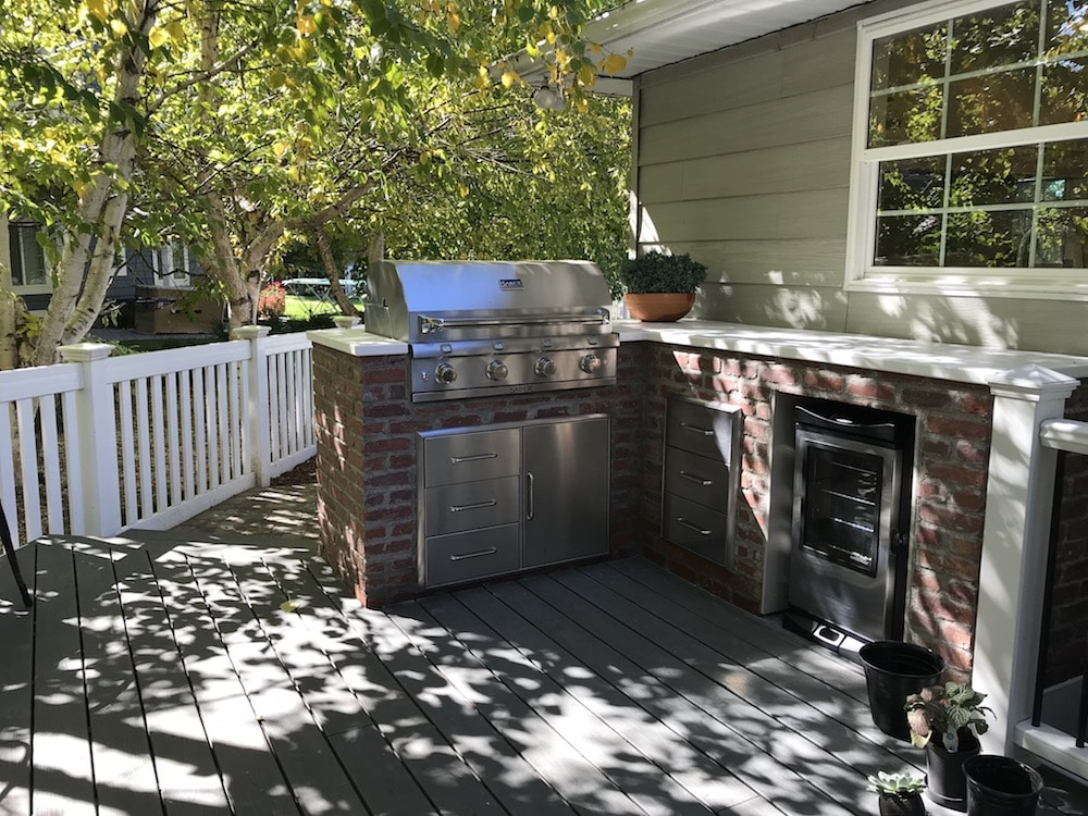 How we DIYed our outdoor built-in grill