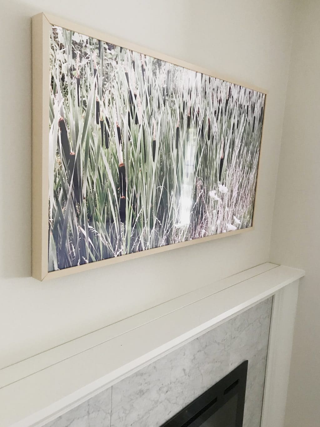 Our Samsung Frame Tv An Unsolicited Review Chris Loves Julia
