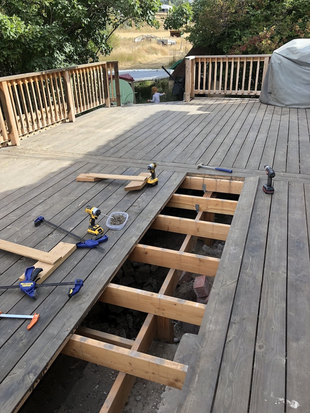 How to Repair, Prep, and Stain a Deck