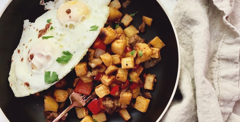Chris Cooks: Sweet Potato Hash