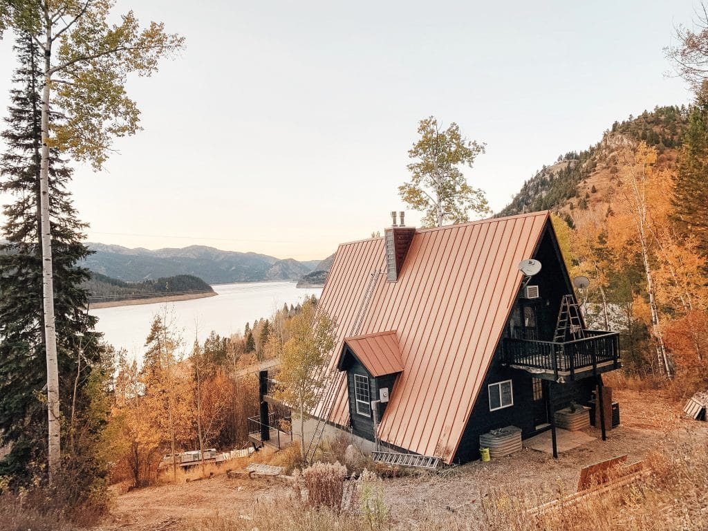 Palisade's a-frame cabin